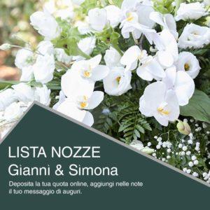 Protetto: Lista Nozze di Gianni e Simona
