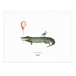 MADO – Coco the Crocodile – 30 x 40