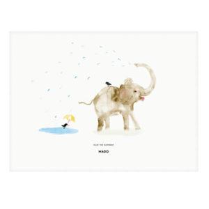 MADO -Ellie the Elephant- 30 x 40