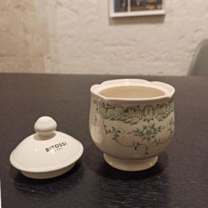 Bitossi Home – Zuccheriera – Decori Salvia – collezione Rose