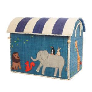 RICE DK –  Elefant – cesto portagiochi – large