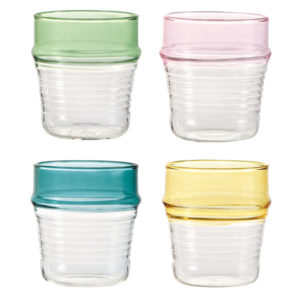 & Klevering – Set 4 Bicchieri Asilah