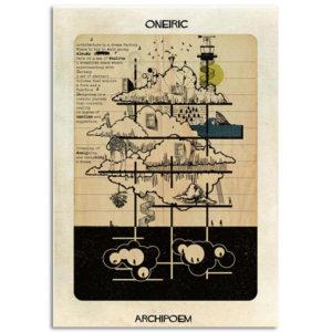FEDERICO BABINA – Oneric – Archipoem – A3
