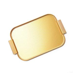 KAYMET – Vassoio Diamond all Gold  – 35 x 25,5