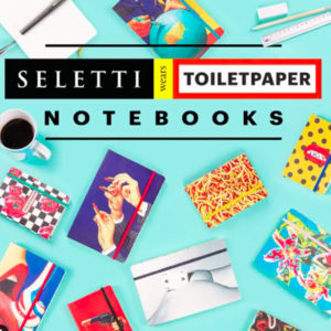 SELETTI- Toiletpaper – Notebook Big Globe