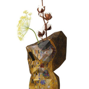 Tiny Miracles – Paper Vase Cover The Kiss – Klimt