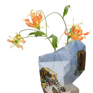 Tiny Miracles – Paper Vase Cover Paper The Dream – Dali