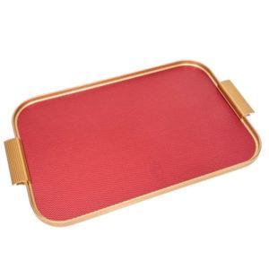 KAYMET – Vassoio – Diamond Red/Gold – 45 x 30 -S18