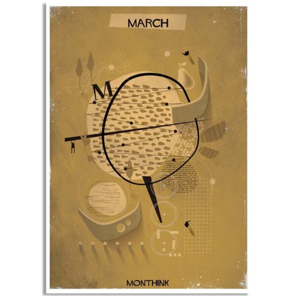 Federico Babina - Monthink - March - A4