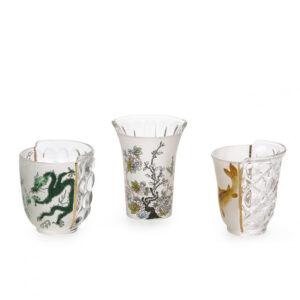 SELETTI – Hybrid – Set 3 Bicchieri Aglaura