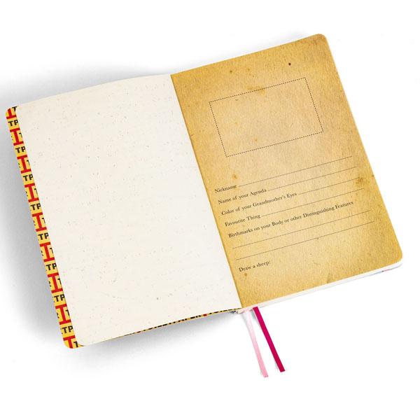 SELETTI- Toiletpaper - Notebook Big Lipsticks