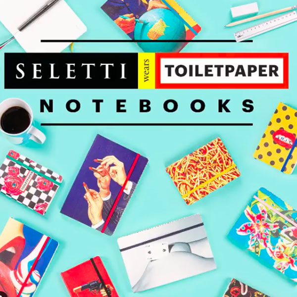 SELETTI- Toiletpaper - Notebook Love Edition