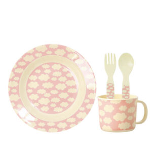 RICE DK – Set Pappa Nuvole – rosa