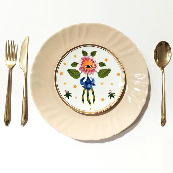 BITOSSI - Fiore Occhio - piatto dolce