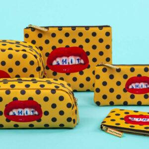 SELETTI- Toiletpaper – Case Bocca -pochette
