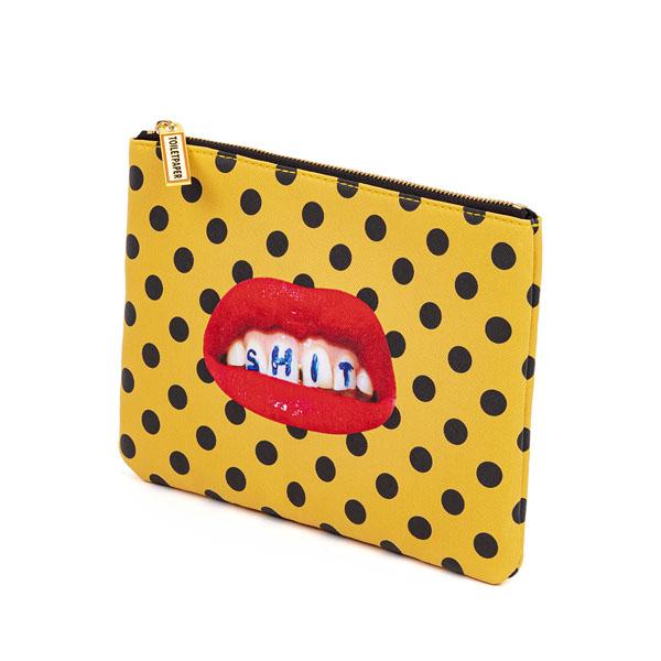 SELETTI- Toiletpaper - Case Bocca -pochette