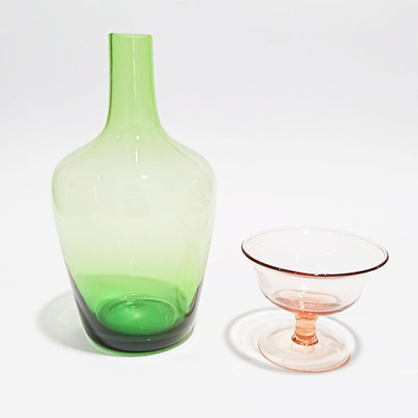 Bitossi Home - Bottiglia/Vaso verde