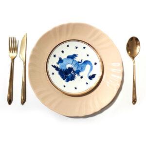 BITOSSI – Drago love – piatto dolce