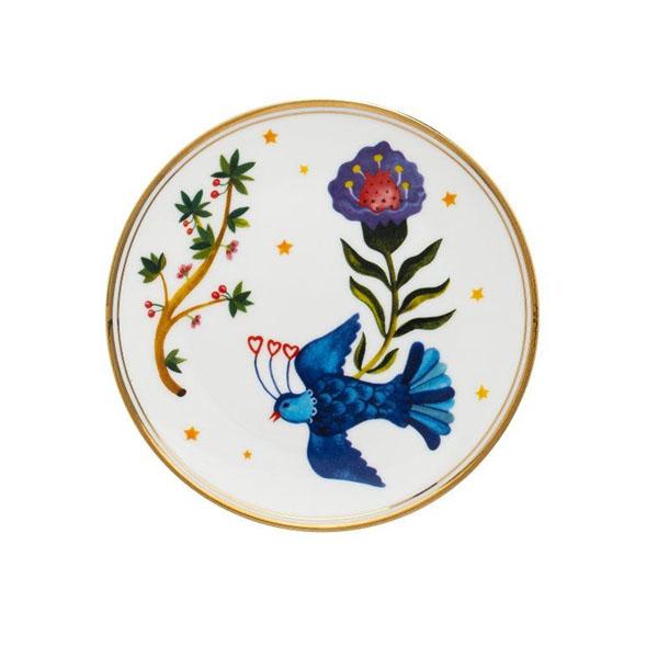 BITOSSI - Fiore Uccellino - piatto dolce