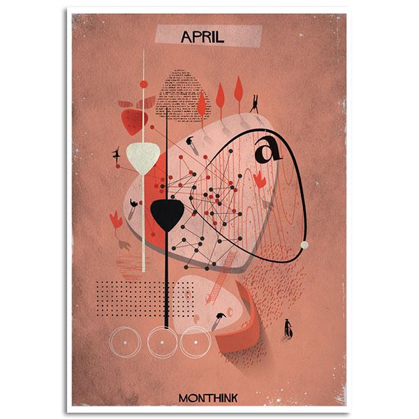 Federico Babina - Monthink -April - A4