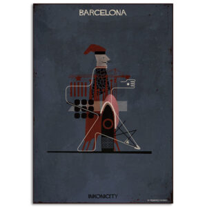 FEDERICO BABINA – Barcelona – Inkonicity- A3