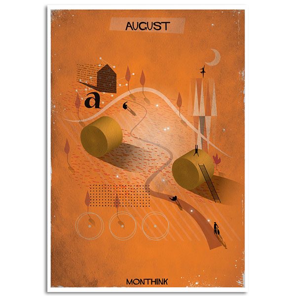 Federico Babina - Monthink - August - A4