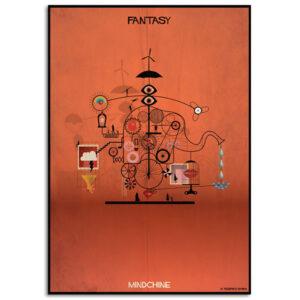FEDERICO BABINA – Fantasy – Mindchine – A3