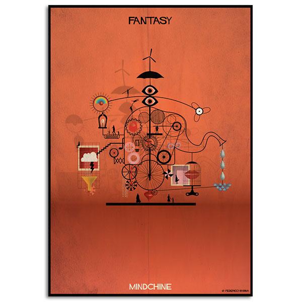 FEDERICO BABINA - Fantasy - Mindchine - A3