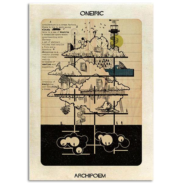 FEDERICO BABINA - Oneric - Archipoem - A3