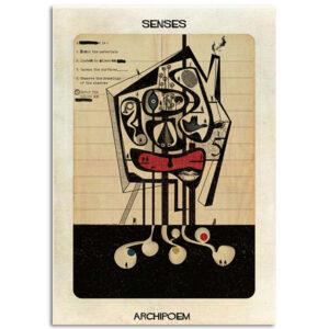 FEDERICO BABINA – Senses – Archipoem – A3