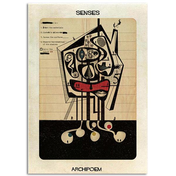 FEDERICO BABINA - Senses - Archipoem - A3