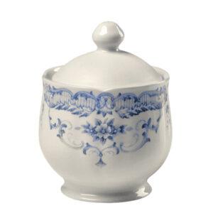 Bitossi Home – Zuccheriera – Decori Blu – collezione Rose
