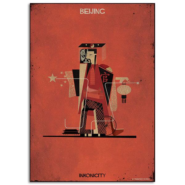 FEDERICO BABINA - Beijing-Inkonicity - A3
