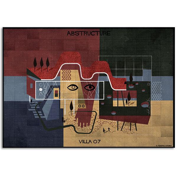 FEDERICO BABINA - Villa07- Abstructure - A3