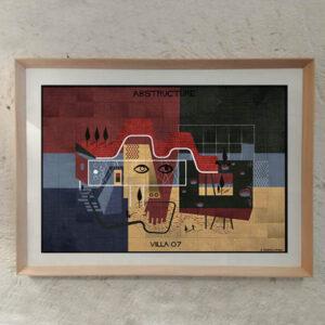 FEDERICO BABINA – Villa07- Abstructure – A3