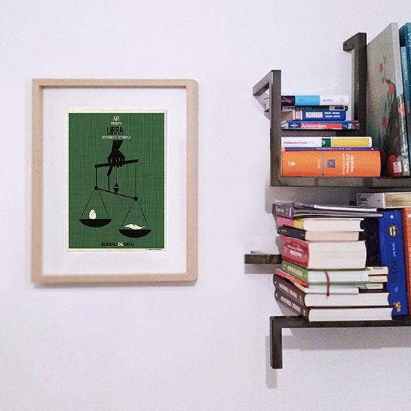 Federico Babina - Zodiacdesign - Libra - A4