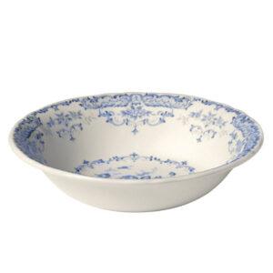 Bitossi Home  Vassoio Tondo  Decori Blu  collezione Rose
