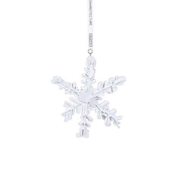 SELETTI - Snowflake Ornament
