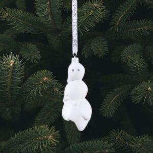 SELETTI – Snowman Ornament
