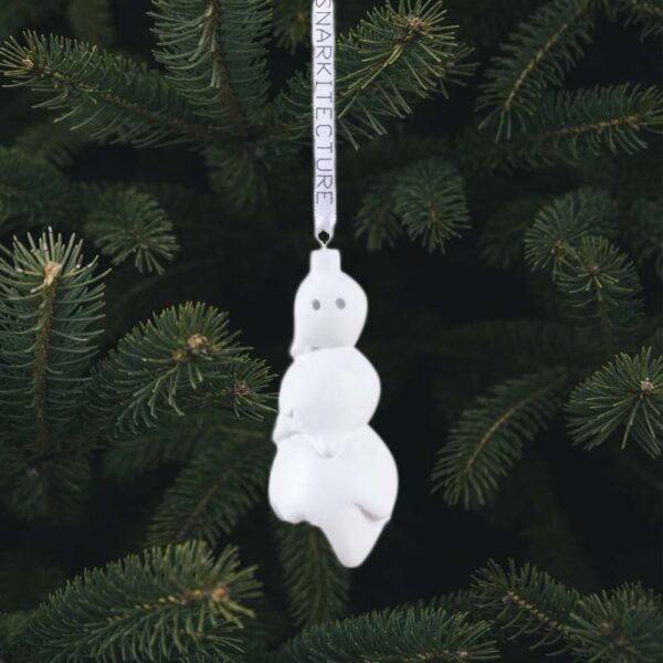 SELETTI - Snowman Ornament