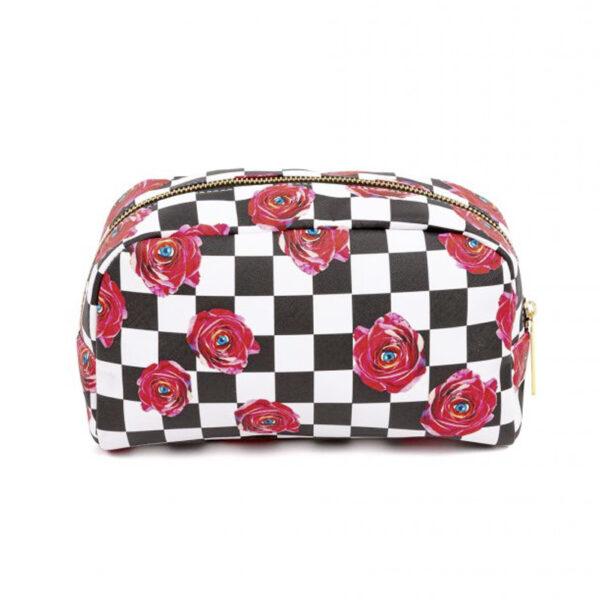 SELETTI - Beauty Case Roses - Toiletpaper
