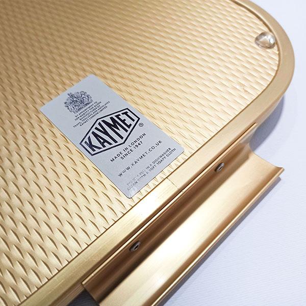 KAYMET - Vassoio Diamond all Gold - S16