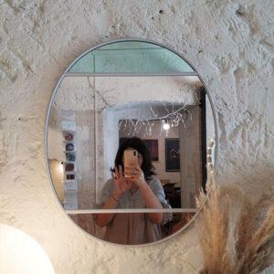 Magis – Vitrail Specchio -50 x 60 cm -Pink Gray Green