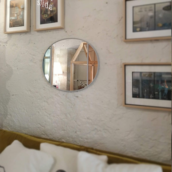 Magis - Vitrail Specchio -50 x 60 cm -Pink Gray Green