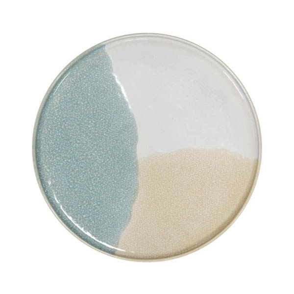 HK Living - Mint Nude Gallery Ceramics Round Side Plate