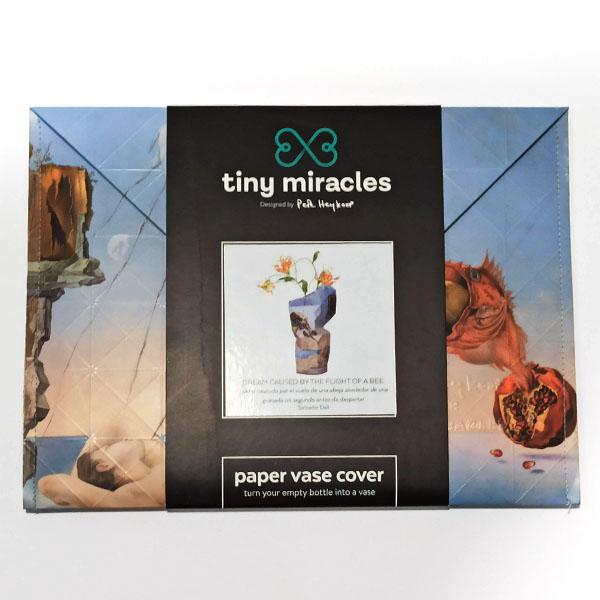 Tiny Miracles - Paper Vase Cover The Dream - Salvador Dali