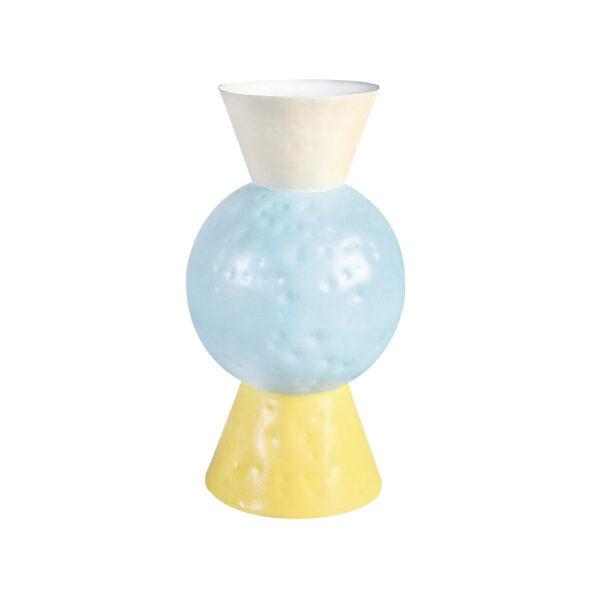 & Klevering - Vaso Origami Blue