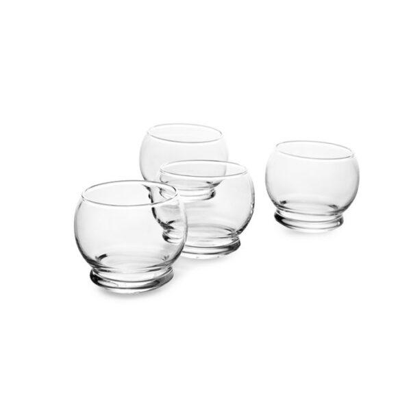 Normann Copenhagen - Bicchieri Rocking Glass Set 4 pezzi