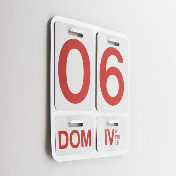 Danese Milano - Formosa- Calendario Perpetuo Da Parete