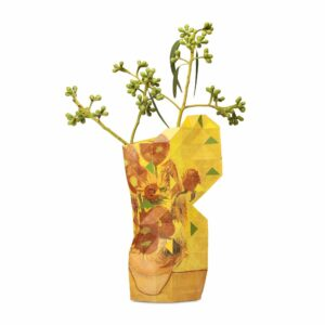 Tiny Miracles – Paper vase cover Sunflowers